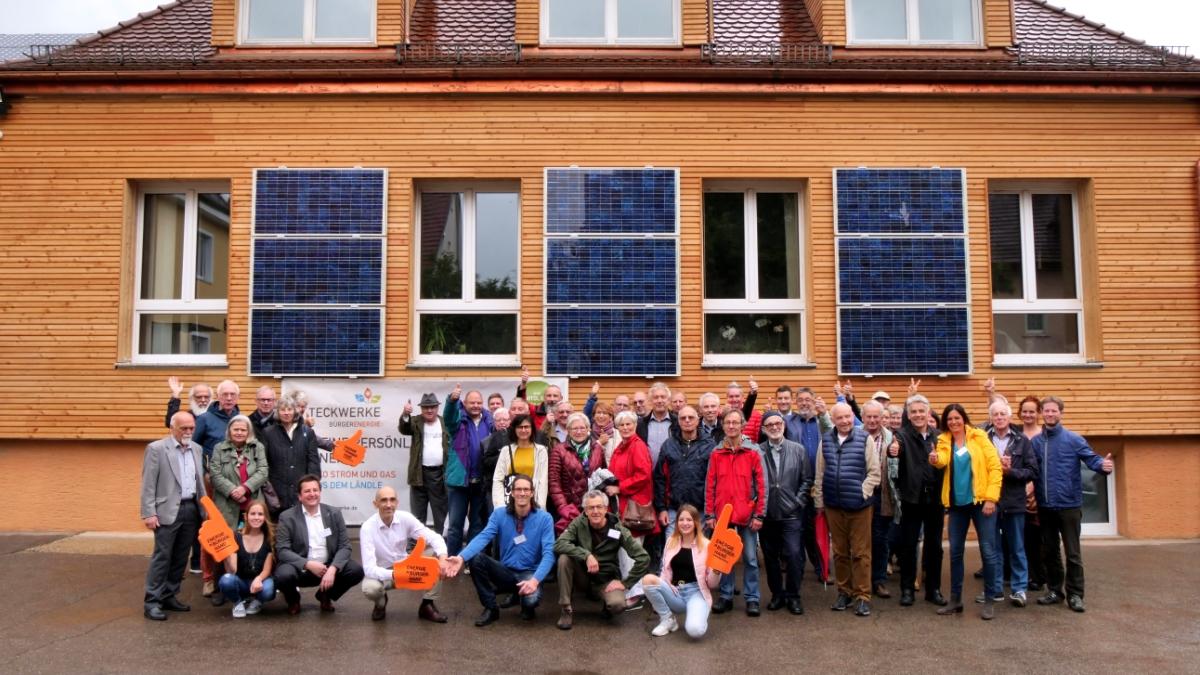 Energiegenossenschaft vor Ort